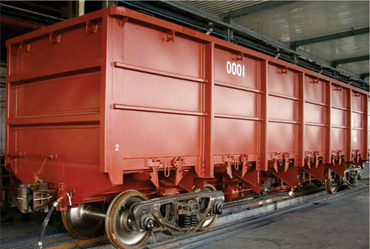Wagons with under frame
